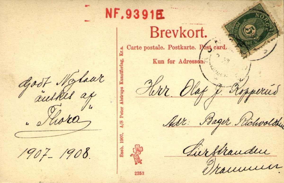Postkort, Nyttårs hilsen