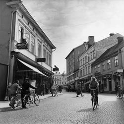 Affärsgata i Oskarshamn