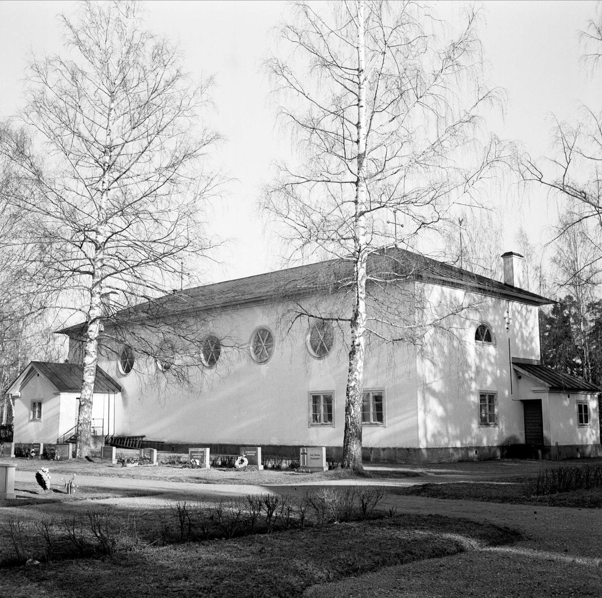 Marma kyrka, Älvkarleby, Uppland 1967