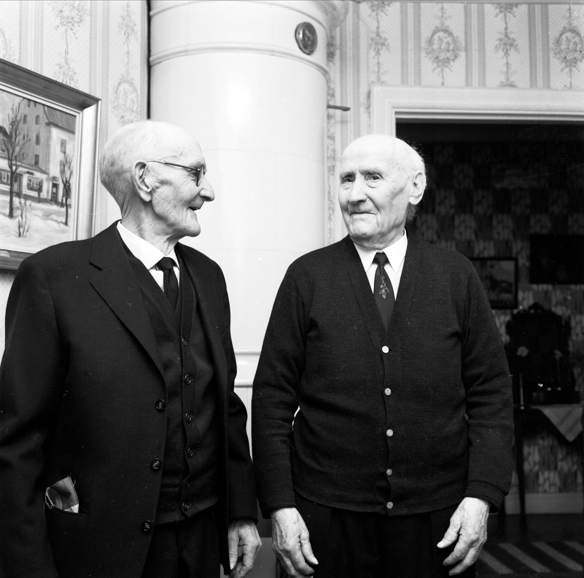 Manne Petterssons 90-årsdag, Tierp, Uppland 1968