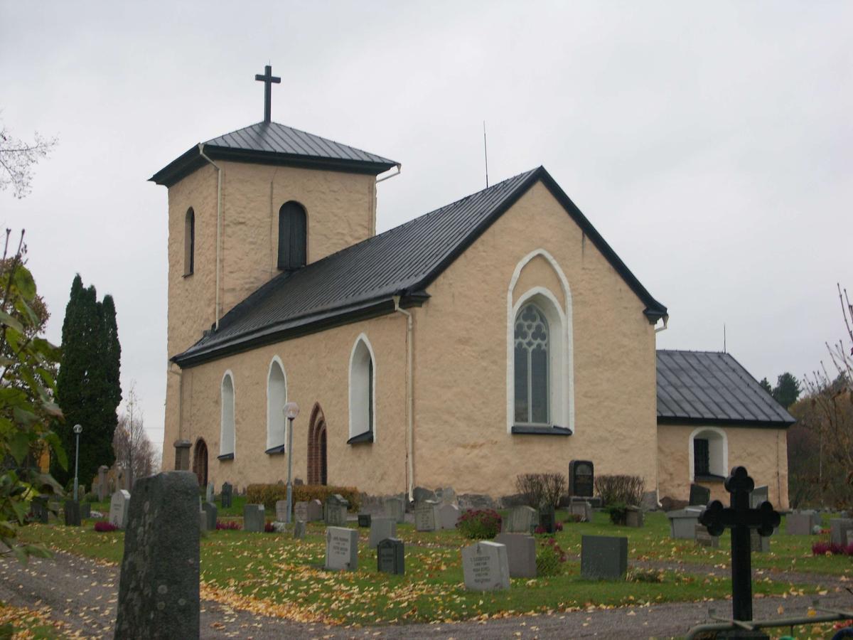 Kalmar kyrka från sydost, Kalmar socken, Uppland 2008