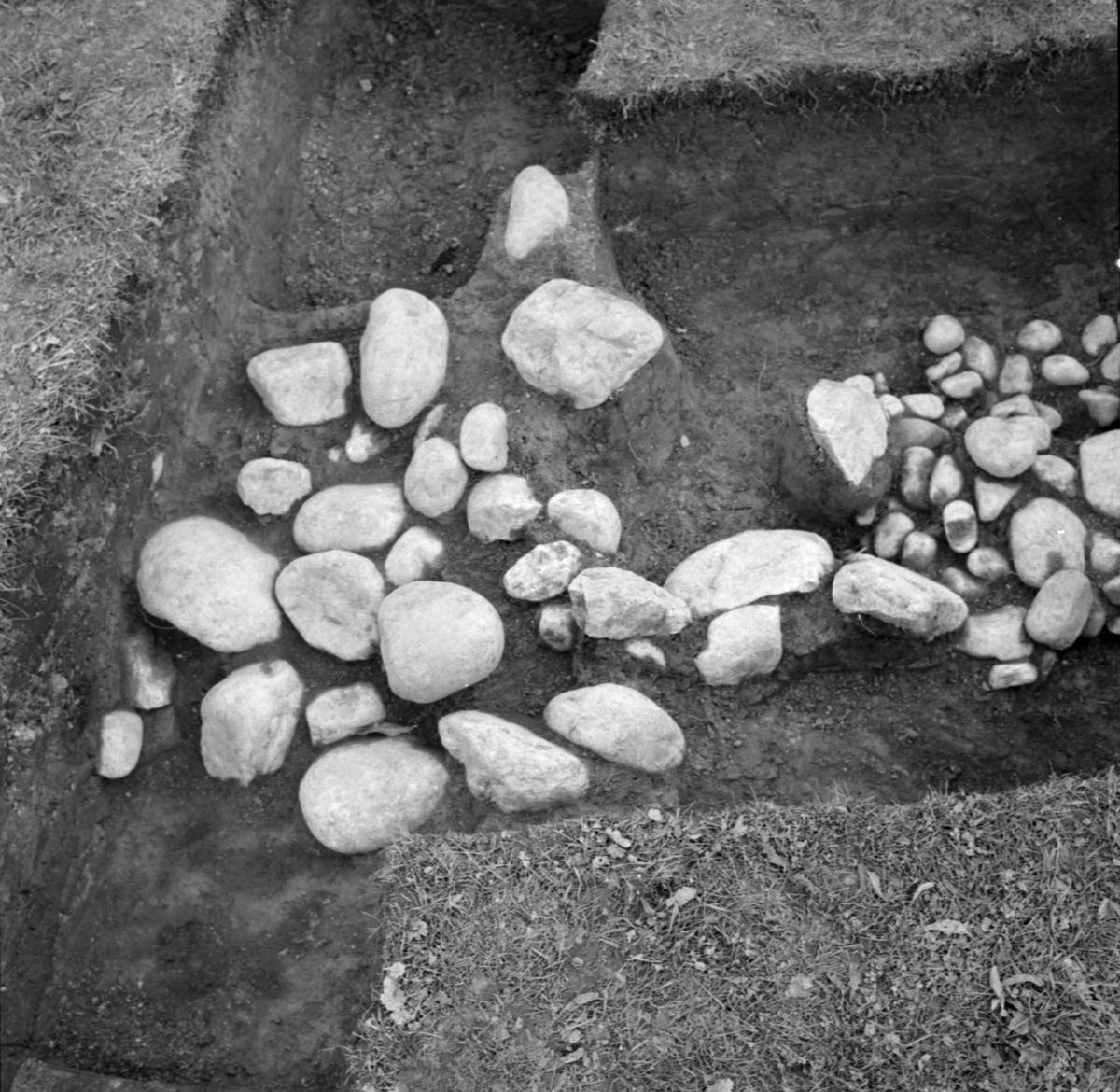 Kungsgårdsplatån, schakt 1 - Arkeologi Gamla Uppsala 1988