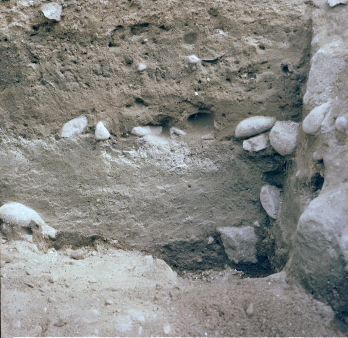 Kyrkogården - Arkeologi Gamla Uppsala 1982