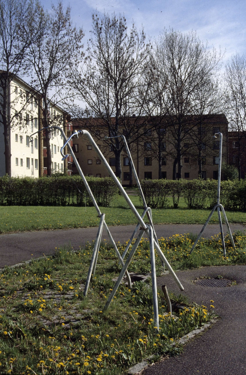 Johannesbäcksgatan, kvarteret Källan, Sala backe, Uppsala 2001