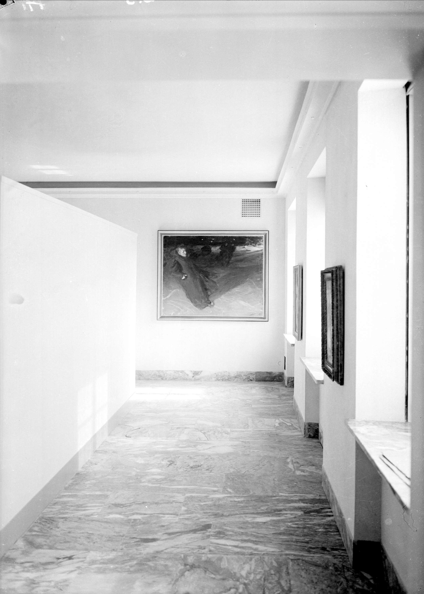Zornmuseet, Mora, Dalarna, interiör 1939