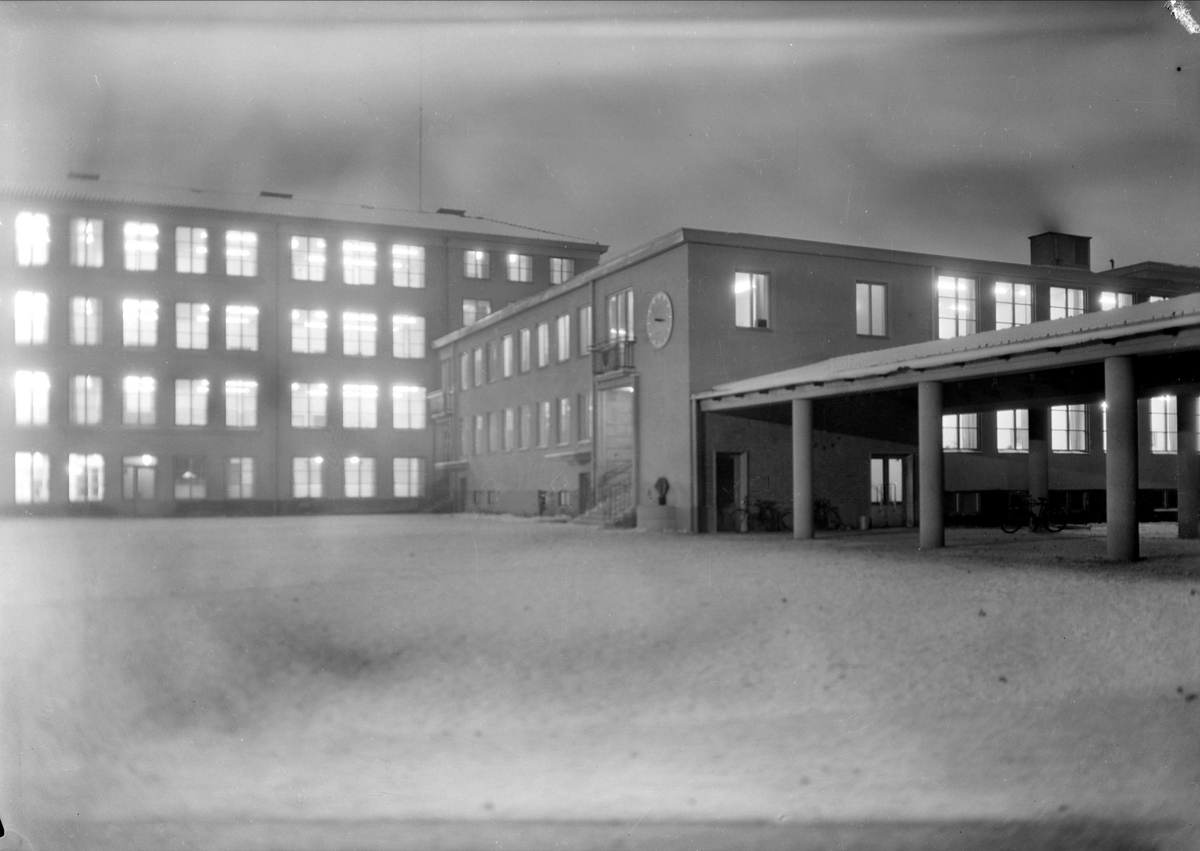 Nannaskolan, kvarteret Nanna, Kungsgatan, Uppsala 1947