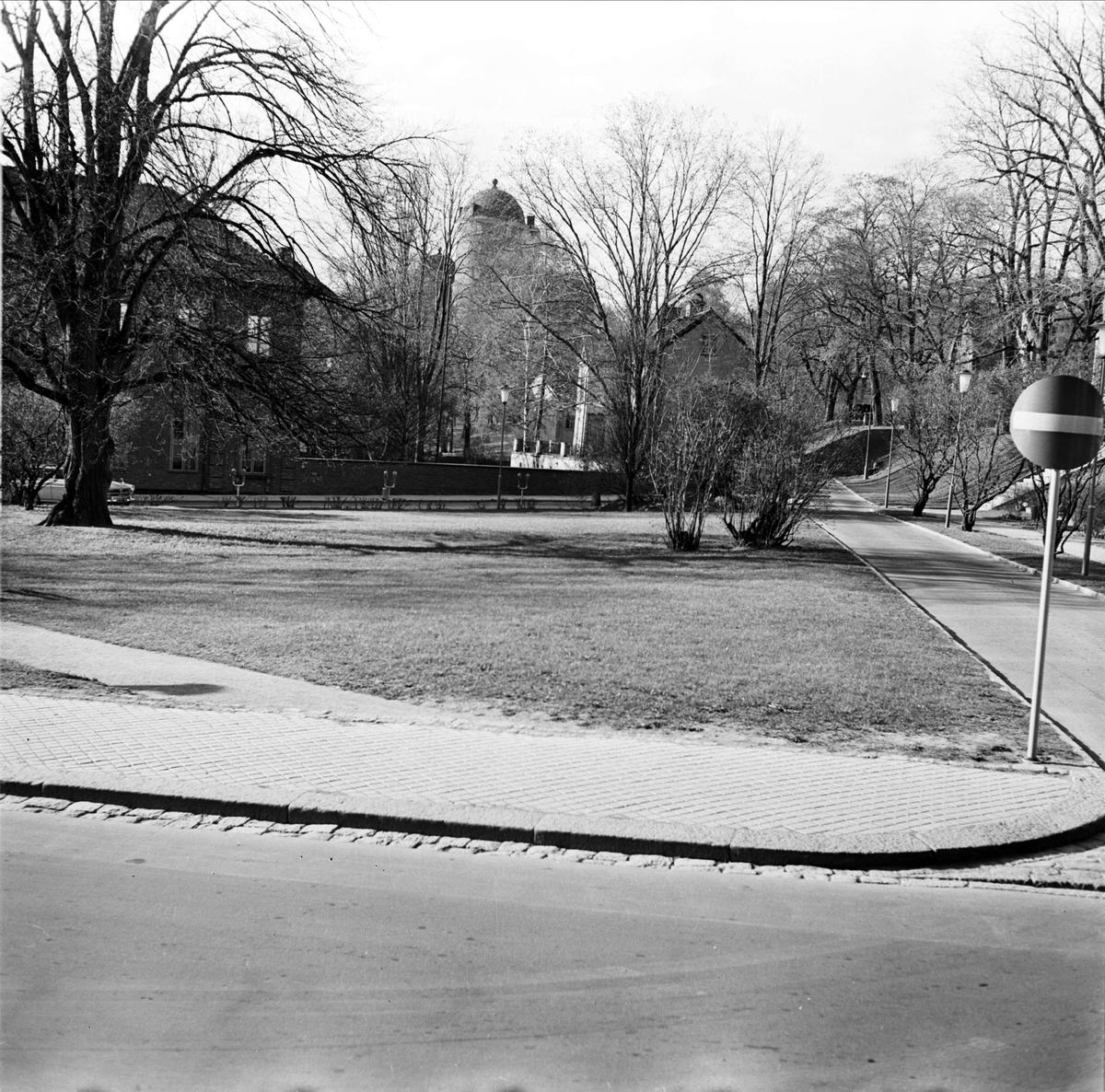 Riddartorget, med kvarteret S:t Erik i bakgrunden, Uppsala