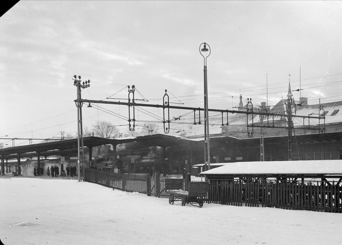 Uppsala centralstation, Uppsala 1937