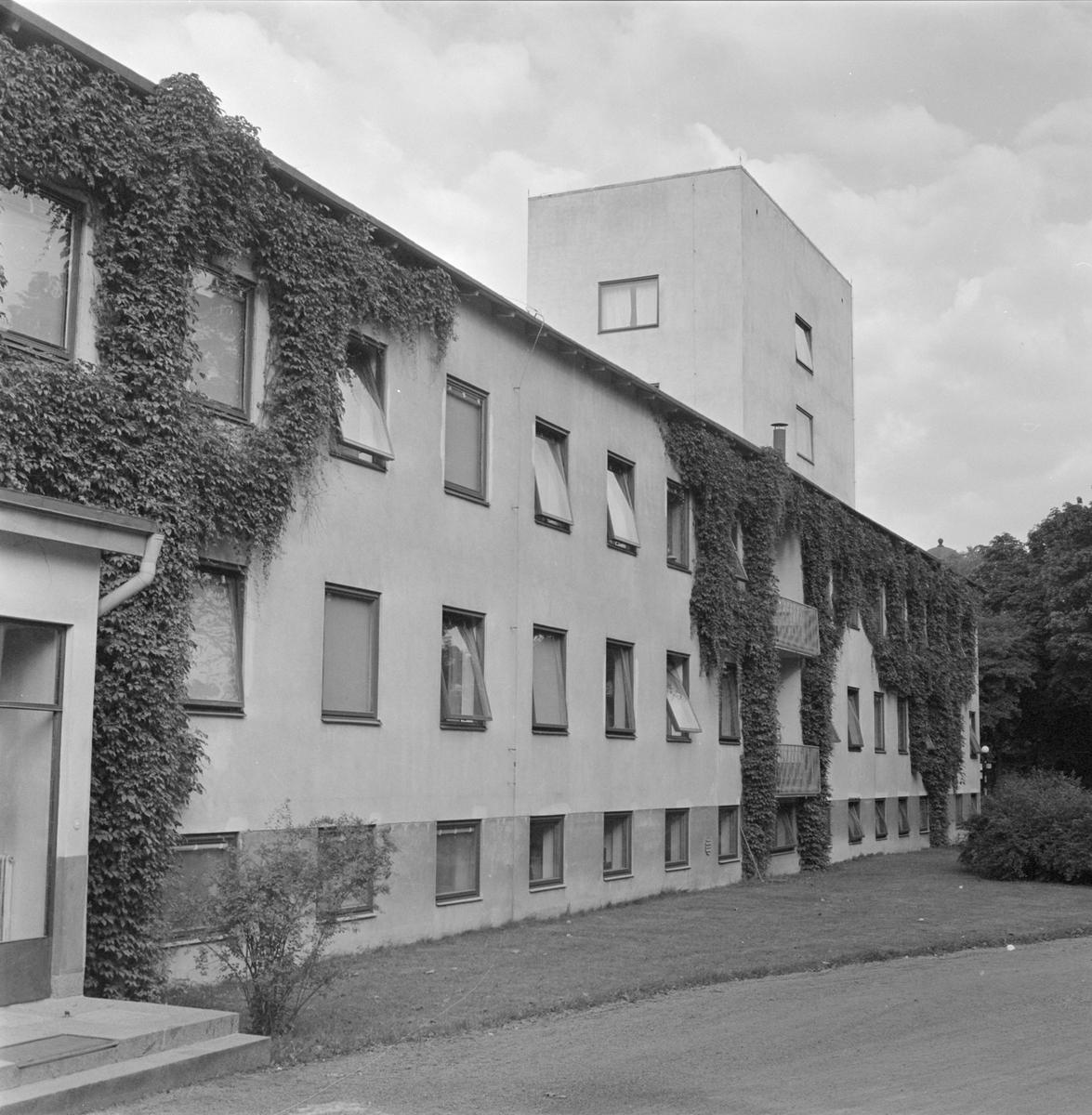 Akademiska sjukhusets sjuksköterskehem, Uppsala 1958