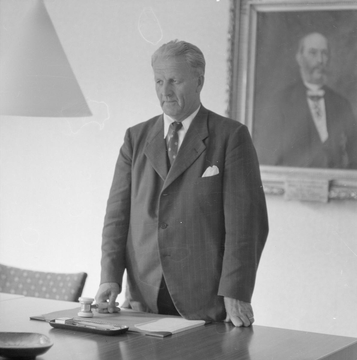 Landstingsmannen Arthur Erik Elmroth, Uppsala