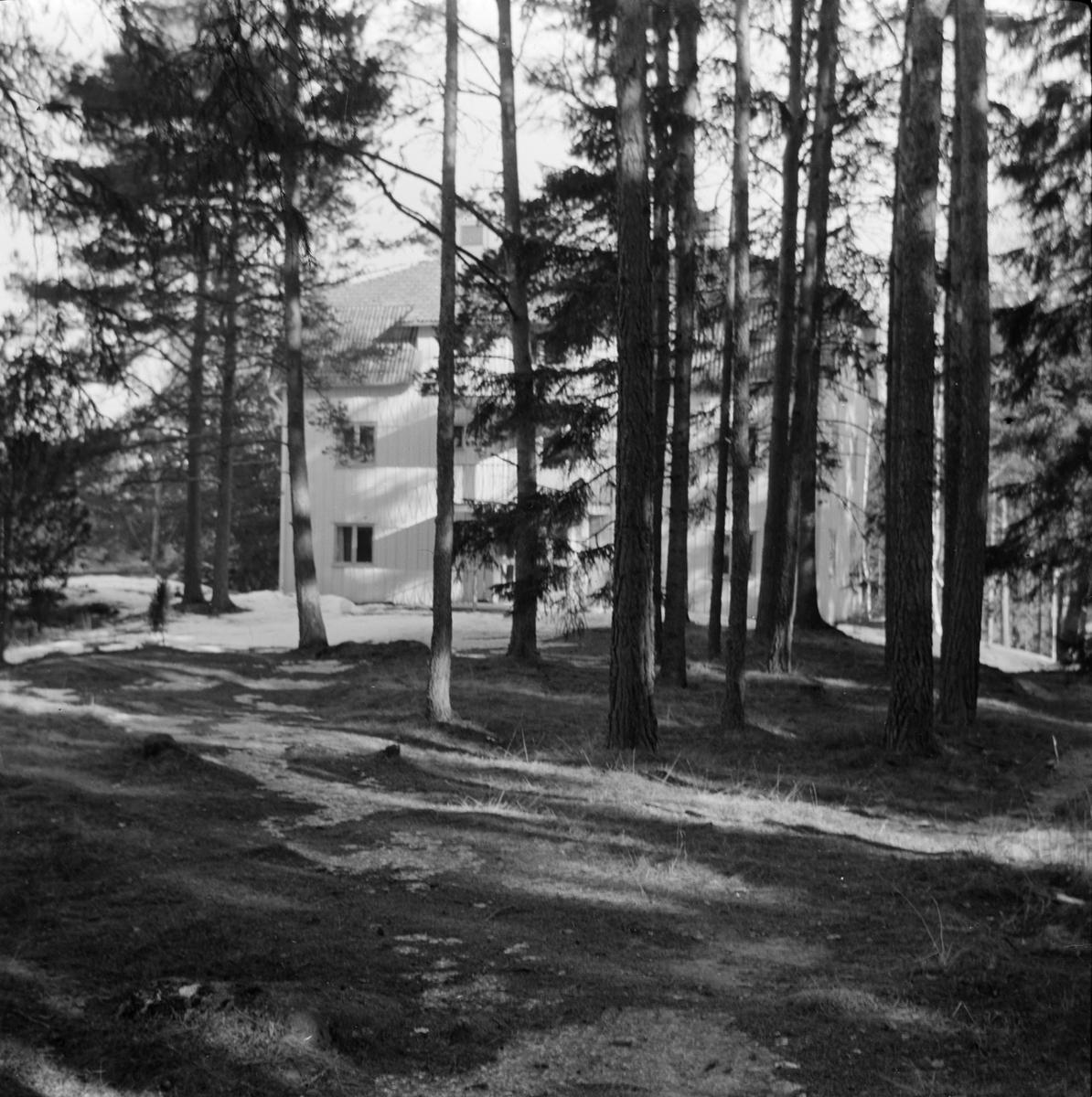 Fagerudds Semesterhem, Fagerudd, Uppland 1961