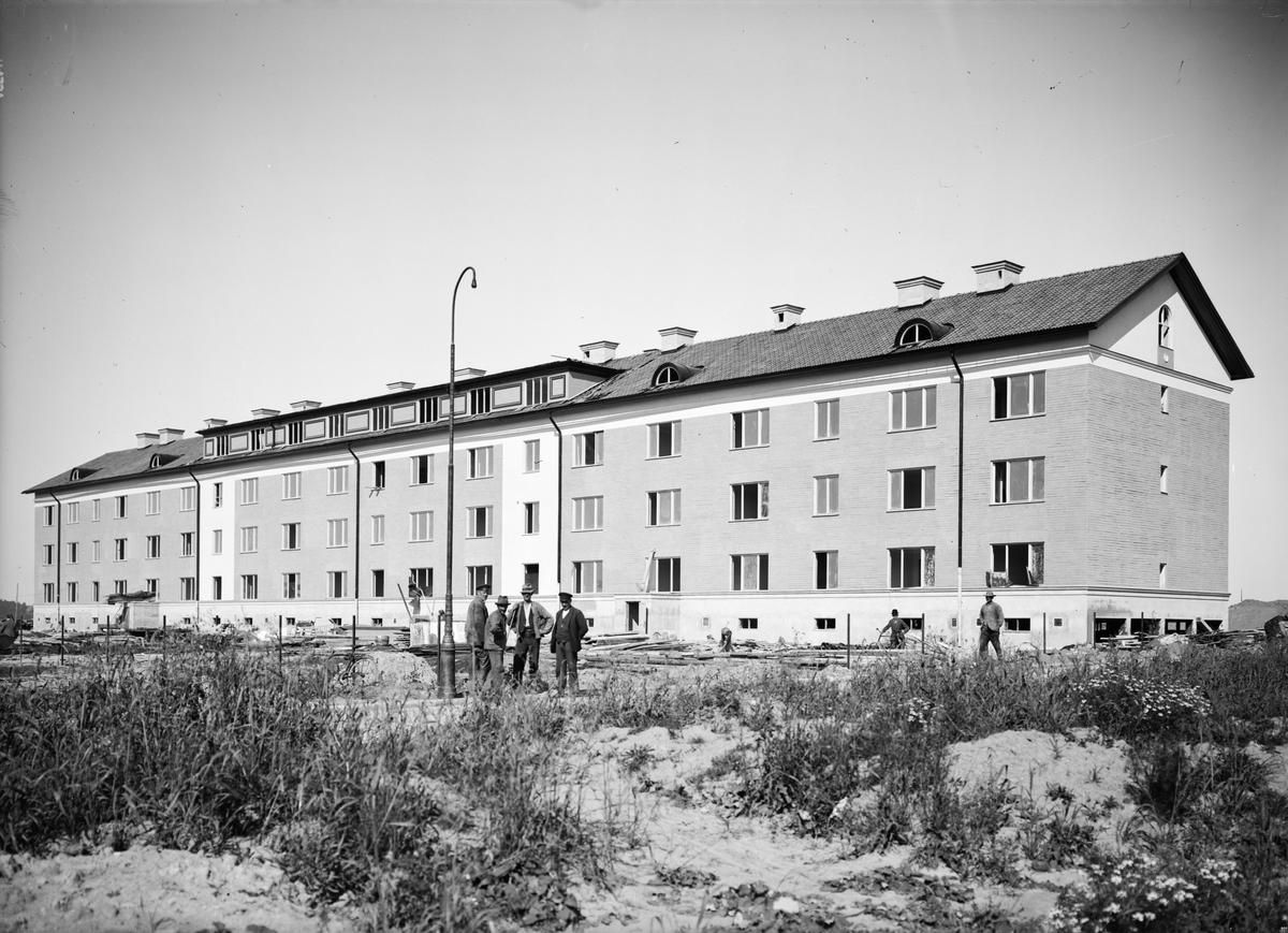 Flerbostadshus, kvarteret Ull, Höganäsgatan, Uppsala 1930