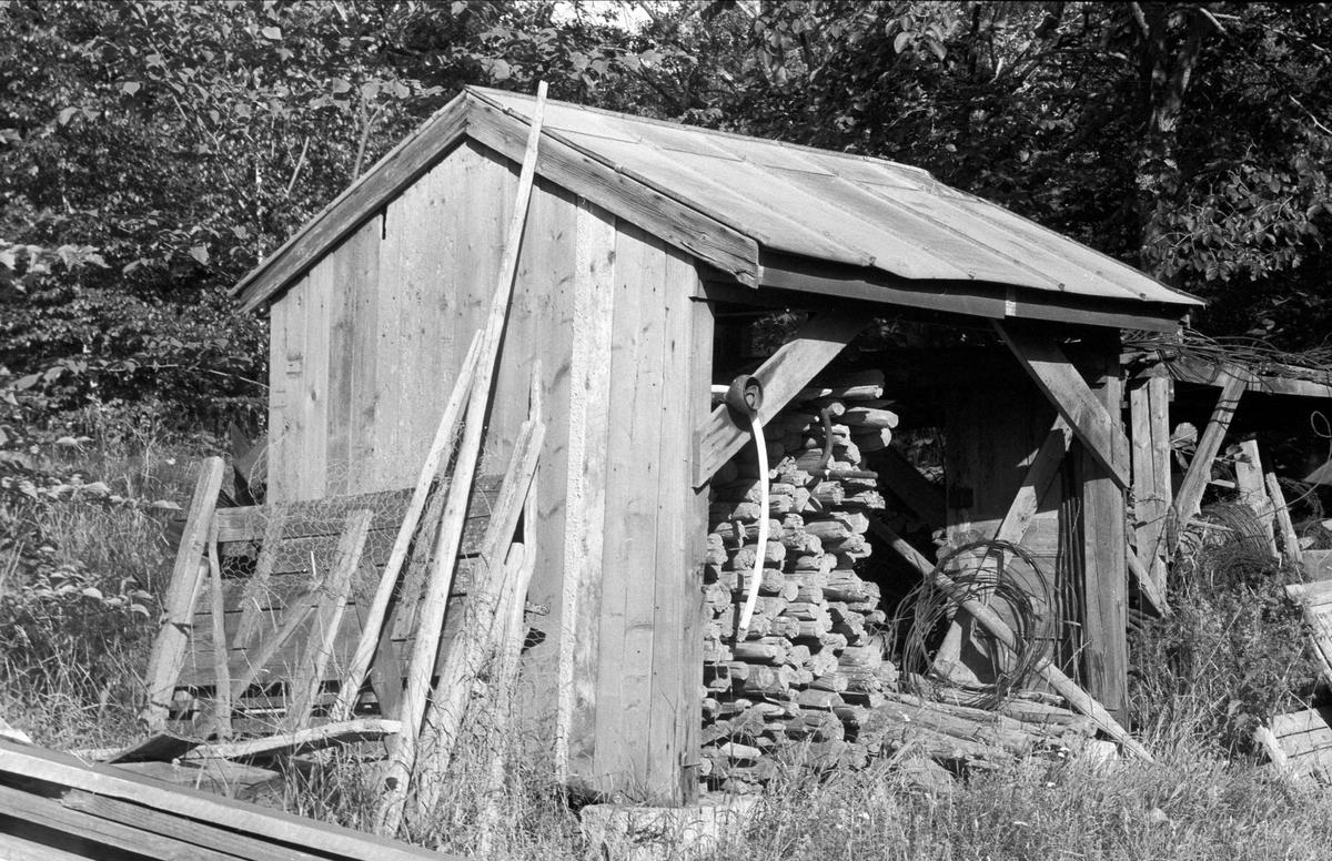 Störskjul, Danviksgården, Lövsta, Bälinge socken, Uppland 1976
