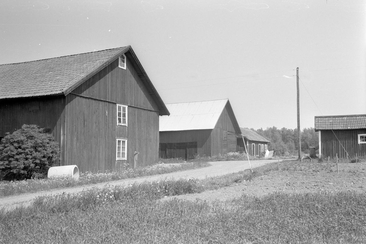Ekonomibyggnader, Ekeby 4:3. Lena socken, Uppland 1977