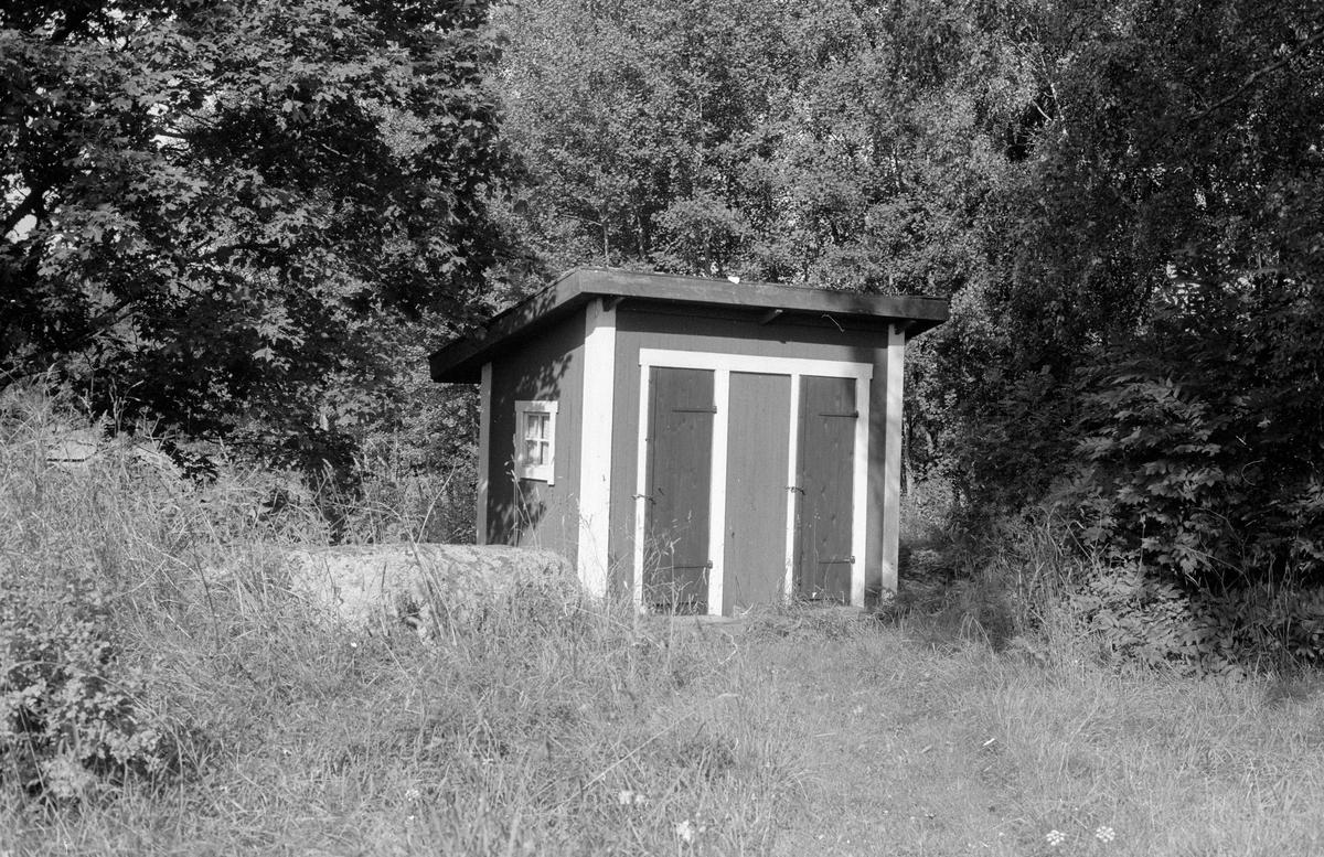 Hemlighus, Lilla Tallen, Knutby socken, Uppland 1987