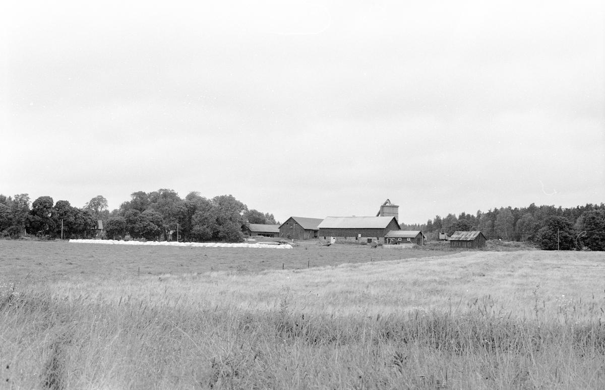 Vy över Kolsta 4:1, Kolsta, Knutby socken, Uppland 1987