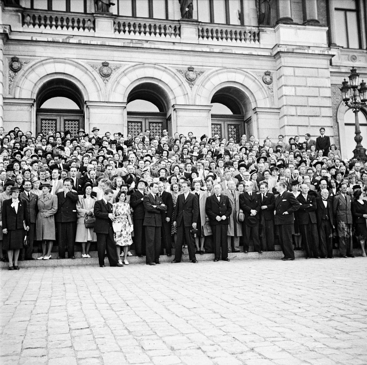 Baptistsångarkonferensen i Uppsala maj 1947