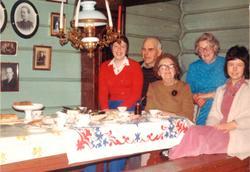 Hålandsfamilien hos Maria Røynesdal, Bjelland.