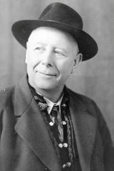 "Portrett av Torgeir Haugen eller ""Store-Haugen"", en veioppsynsmann."