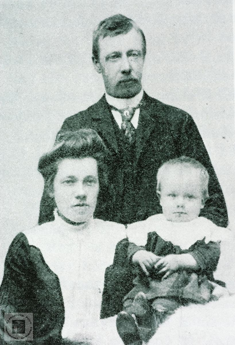 Familien Håland. Grindheim Audnedal.
