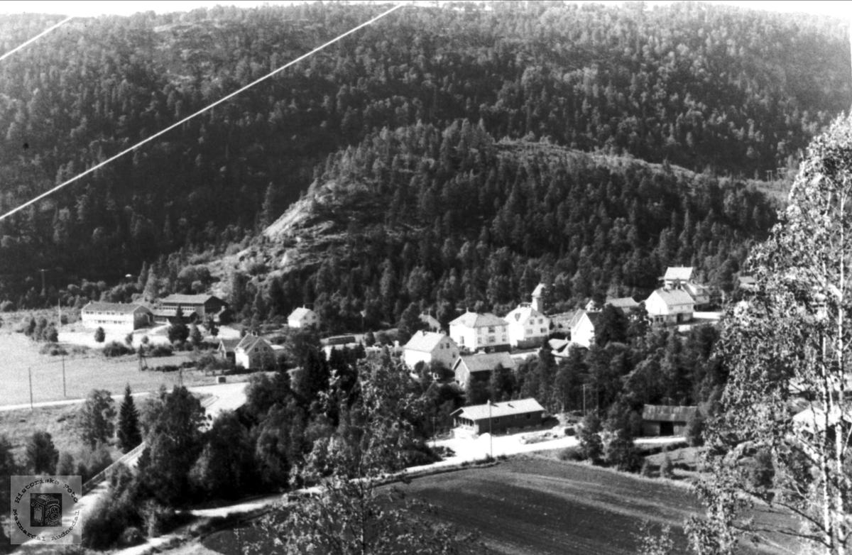Bjelland sentrum.