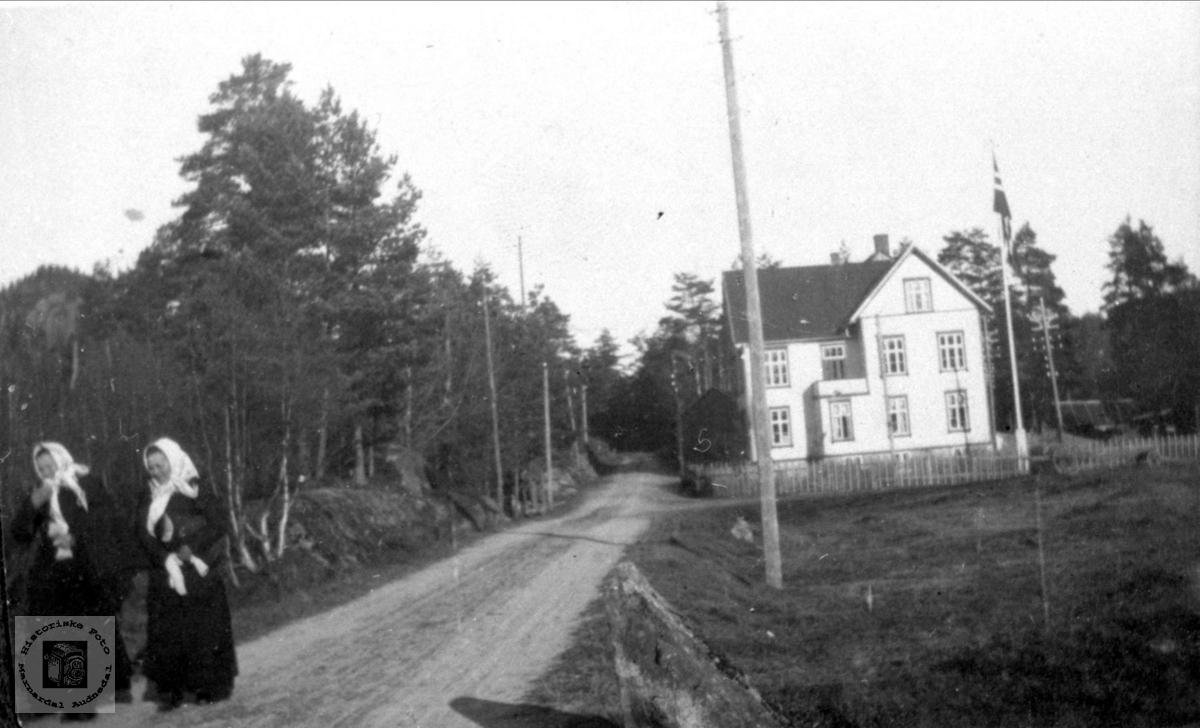 Heradshuset på Bjelland.