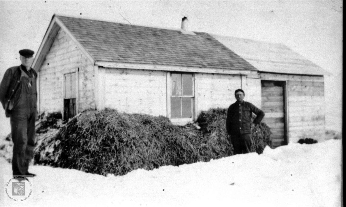 Huset på prærien i Canada. Bendik Mjunåsen fra Laudal.
