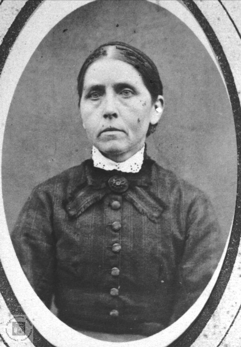 Portrett av Steivor D. Løvdal, Laudal.