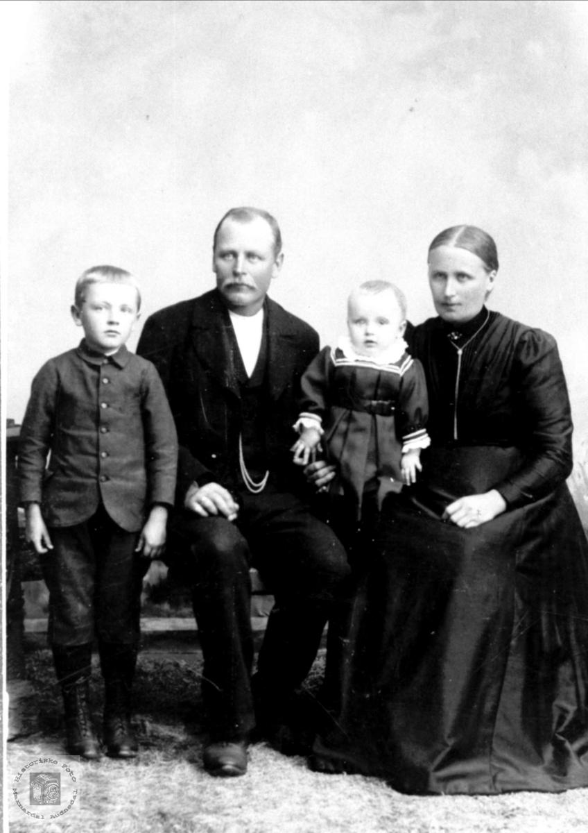 Familiegruppe Skjævesland, Øyslebø.