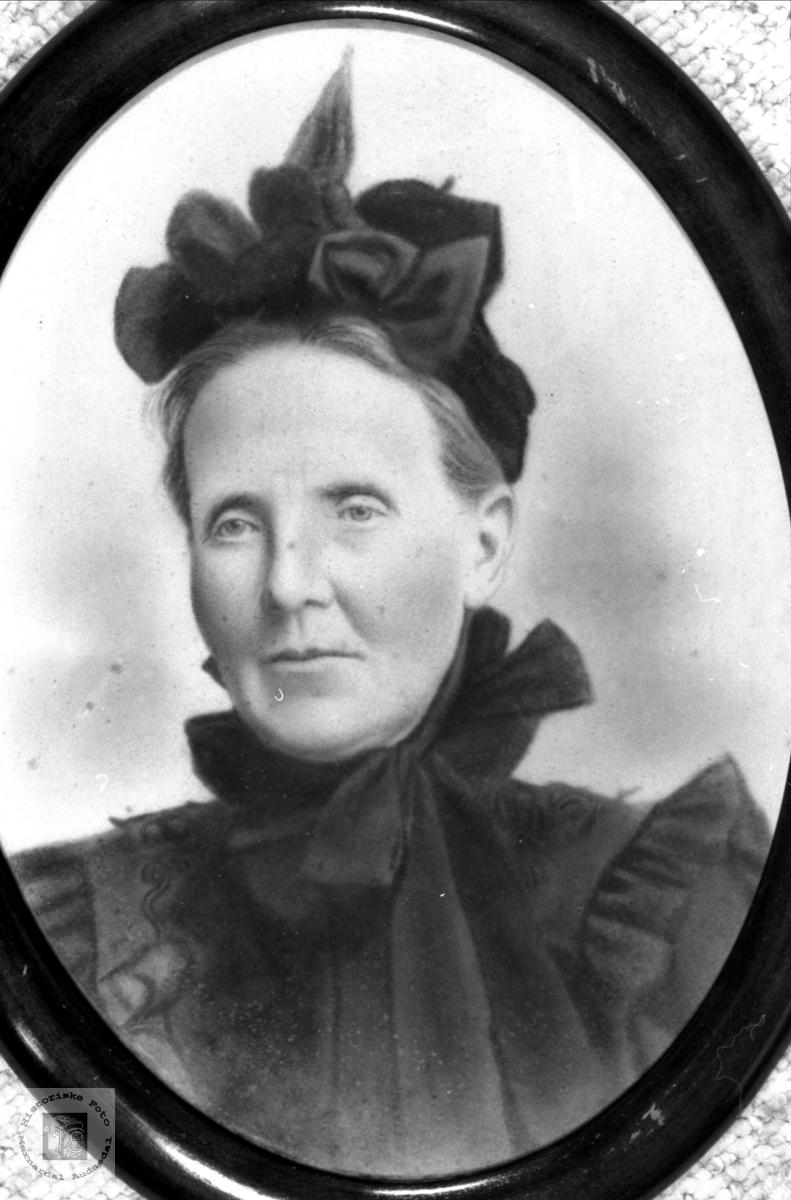 Portrett av fru Svege.