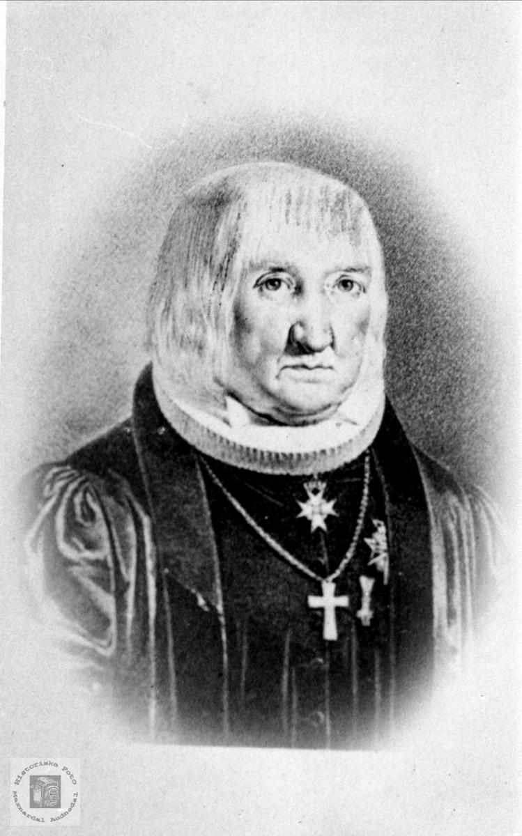 Portrett av Christian Sørensen.
