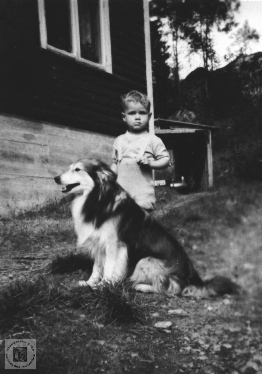 Barneportrett av Harald Krohn, Bjelland.