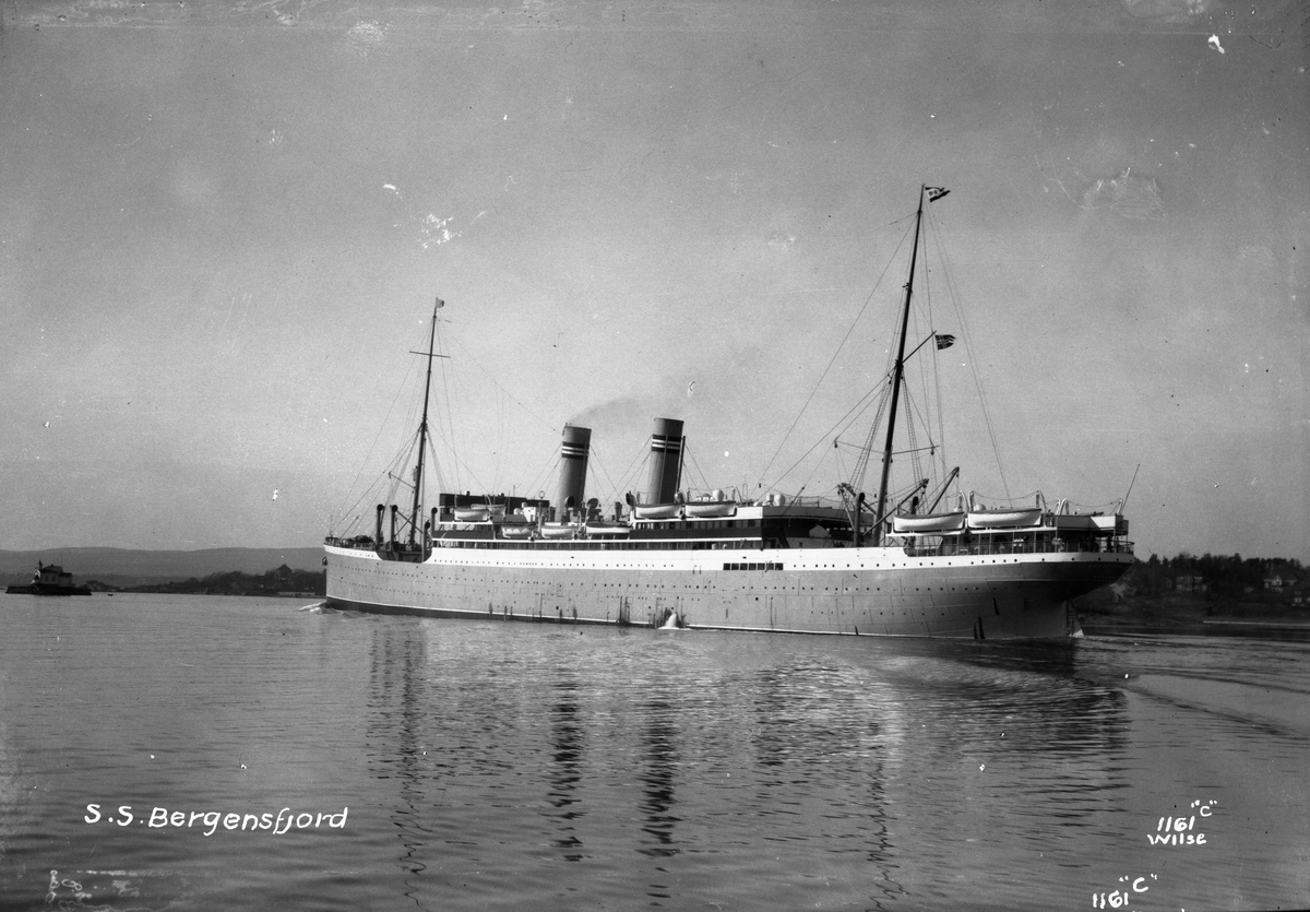 Bergensfjord (b. 1913, Cammel, Laird & Co., Birkenhead)