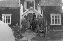 De første tyskerne kommer til Ansjøen