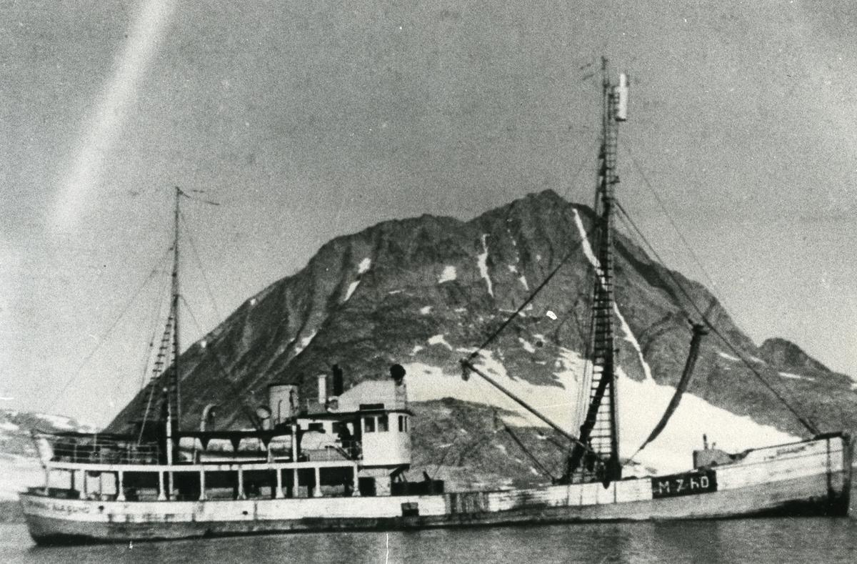 M/S Brandal (Ex. D/S)(b.1911, Skaalurens Skibsbyggeri, Rosendal)