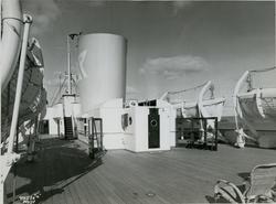 Dekket på passasjer- og lastebåten M/S Black Prince, B/N 473