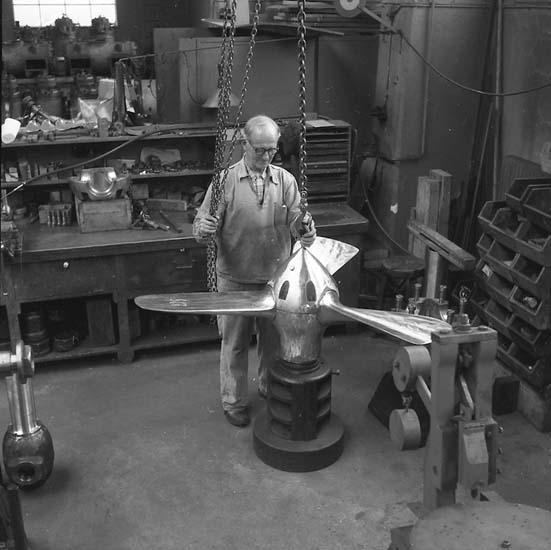 Montering av propeller, Skandiaverken.