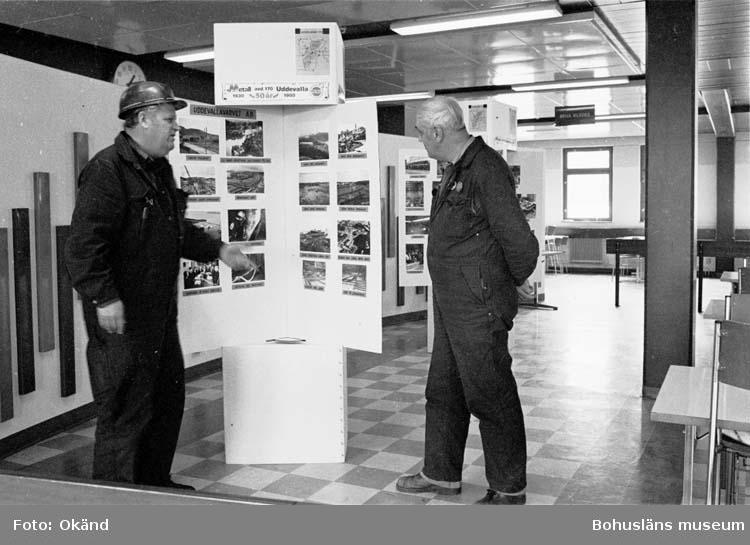 Metallutställning i samband med avdelning 170:s 50-års jubileum. Från Varvet och Vi 2/80.