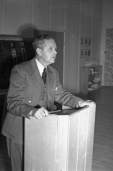 """Enligt notering: """"Industriell Demokrati Bohusgården 26/9 1947""""."""