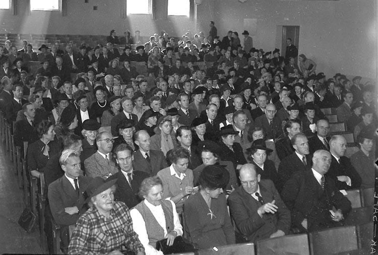 """Enligt notering: """"Lärarmöte Folkets Hus 18/10 1947""""."""