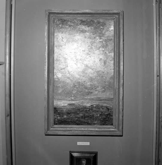 """Enligt notering: """"Tavlor på Museet 6/4 -59""""."""