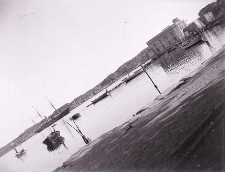 """""""Marstrands hamn, Södra inloppet."""""""