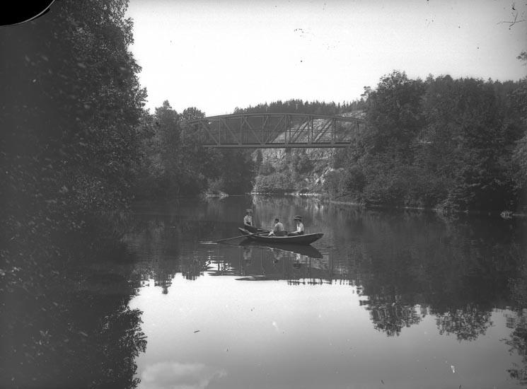 """Enligt fotografens noteringar: """"Idyll från Kvistrums dalar omkring 1910."""""""