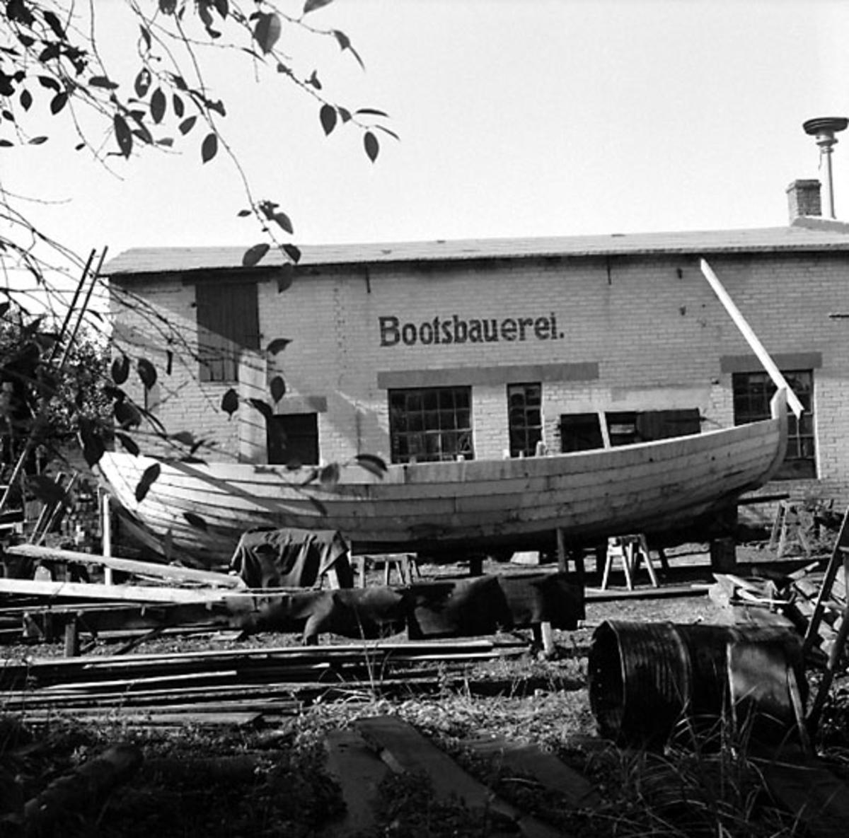 Bootsbauerei.