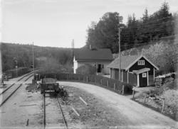 Dingle station, norra utfarten