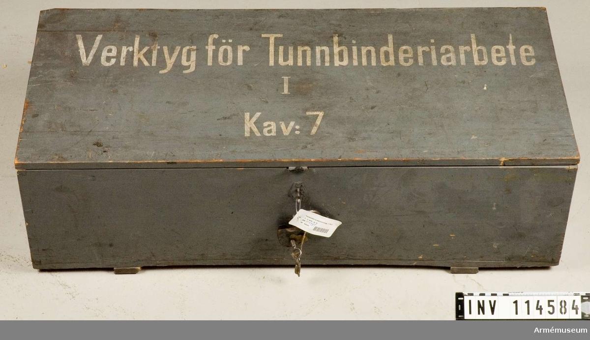 Tunbinderiarbetsverktyg