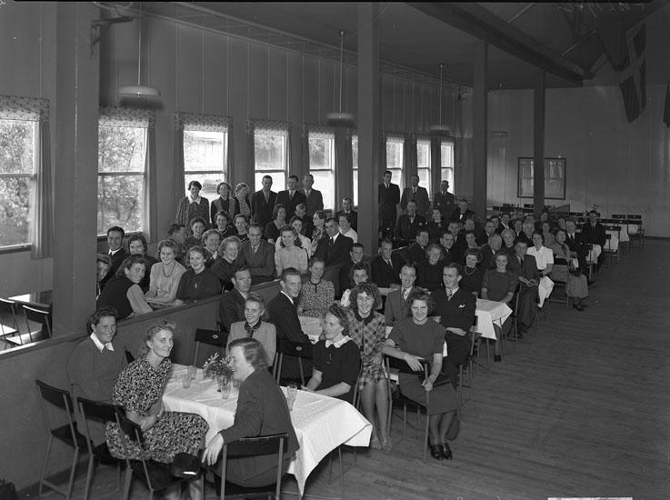 Styrelsemöte i Folkets park 1941
