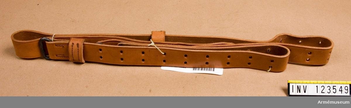 Remmen användes även till gevär m/1903 Springfield och m/1917 Enfield.