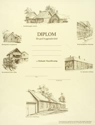 Diplom i byggnadsvård