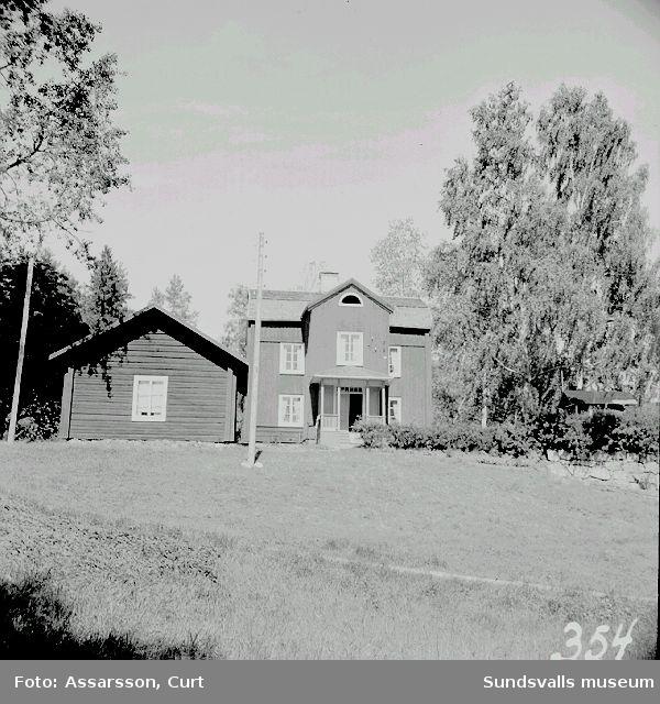 Gryttjens herrgård från 1700-talet.